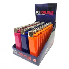 KTWO Flint Solid Colour Disposable Lighter Smokers